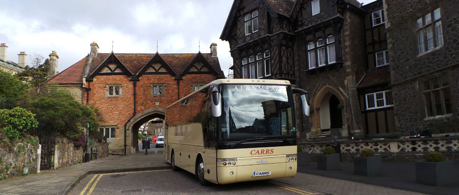 Carrs coaches are hire for day trips